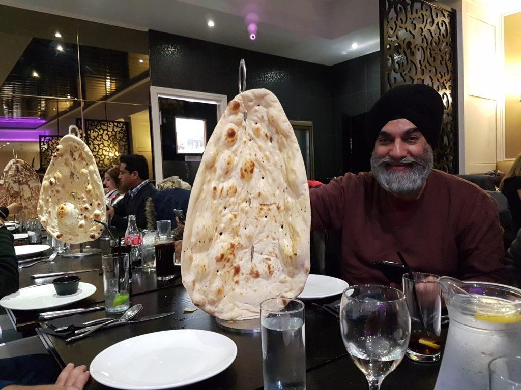 Giant nan bread
